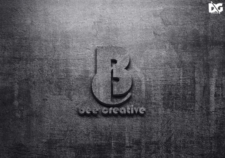 High Quality 3D Logo Mockup