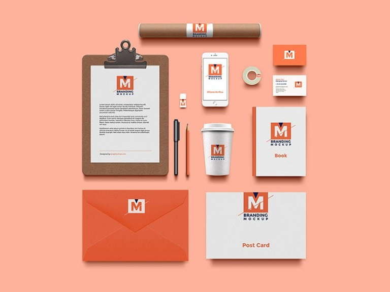 High Resolution Branding Identity Mockup