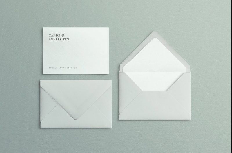 High Resolution Invitation Crad Mockup