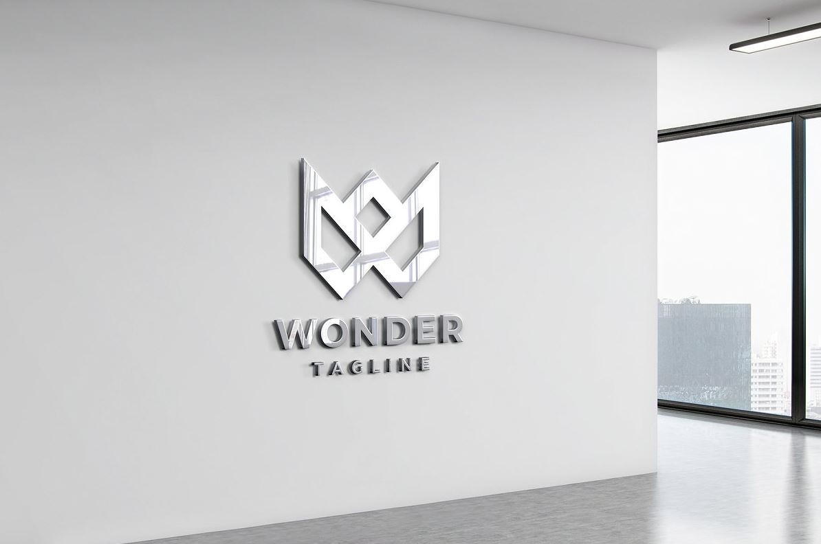 Logo-Mockup-Sign-Office-3D