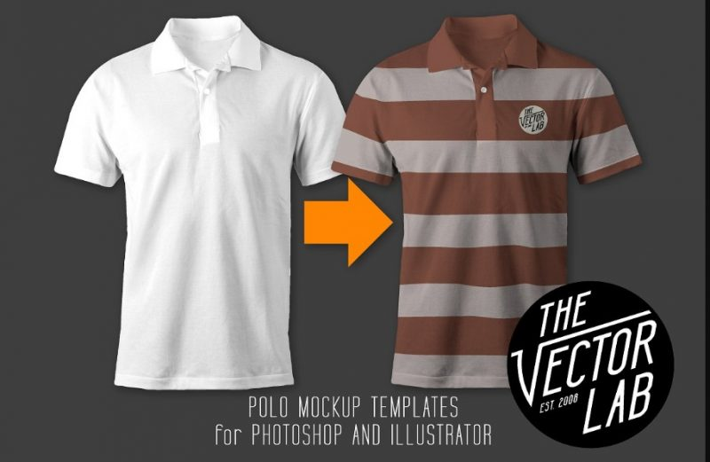 Mens Polo Shirt Mockup