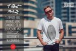 32+ Men's T-Shirt Mockup PSD Free & Premium Download