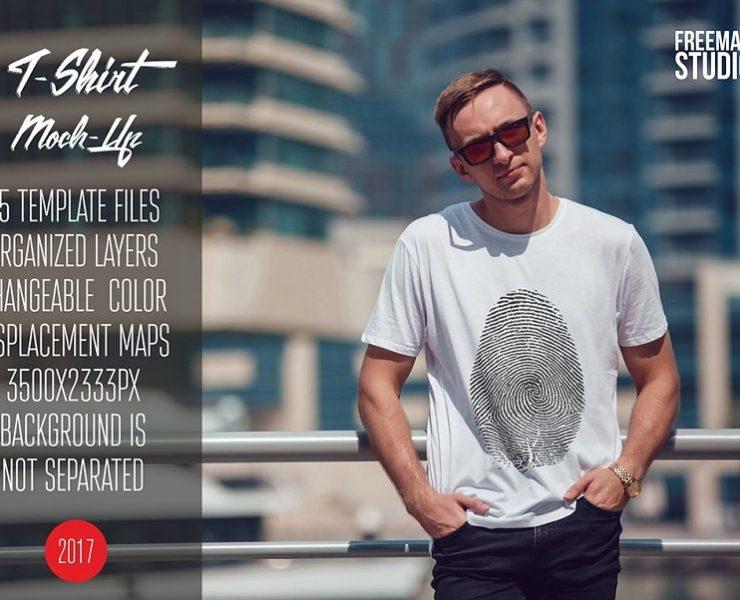 22+ White T-Shirt Mockup PSD for Presentation