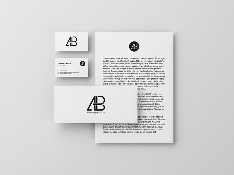 Modern Branding Identity Mockup PSD Free