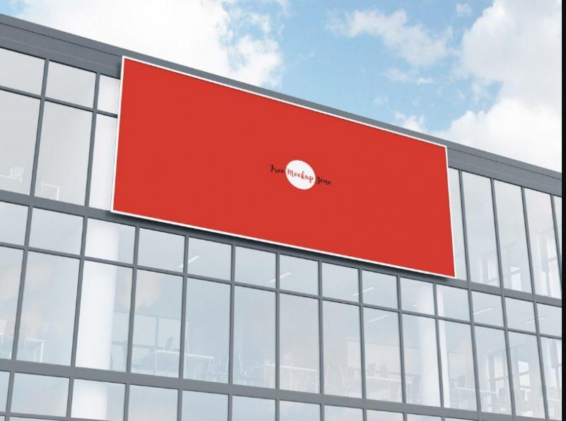 Office Building Facade Mockup