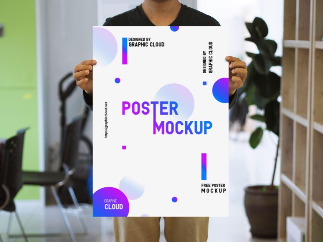 Office Poster Mockup