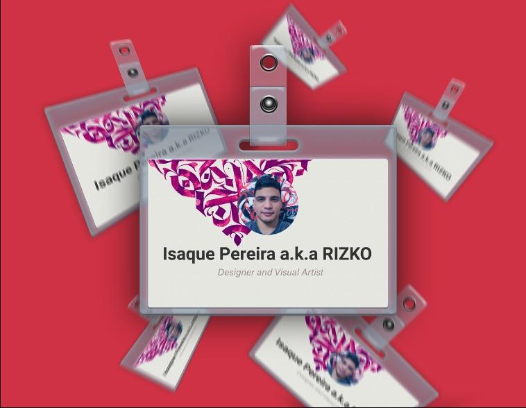 Plastic ID Card Mockup PSD