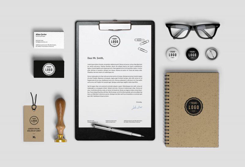Professional Branding Identity Mockup