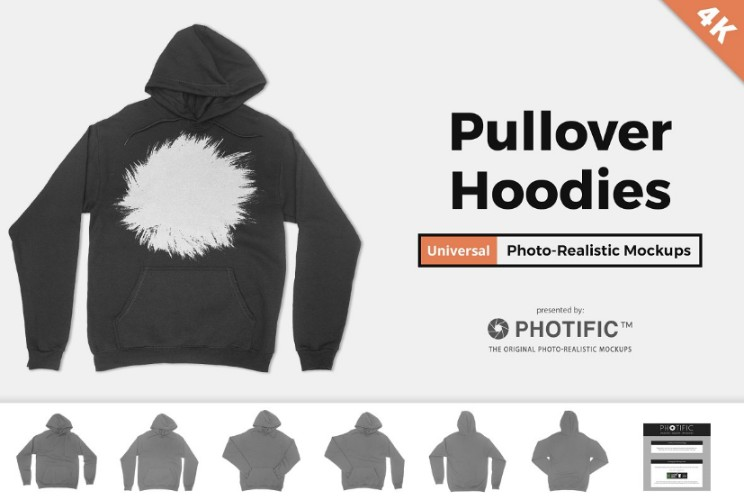 Pullover Sweatshirt Mockup PSD