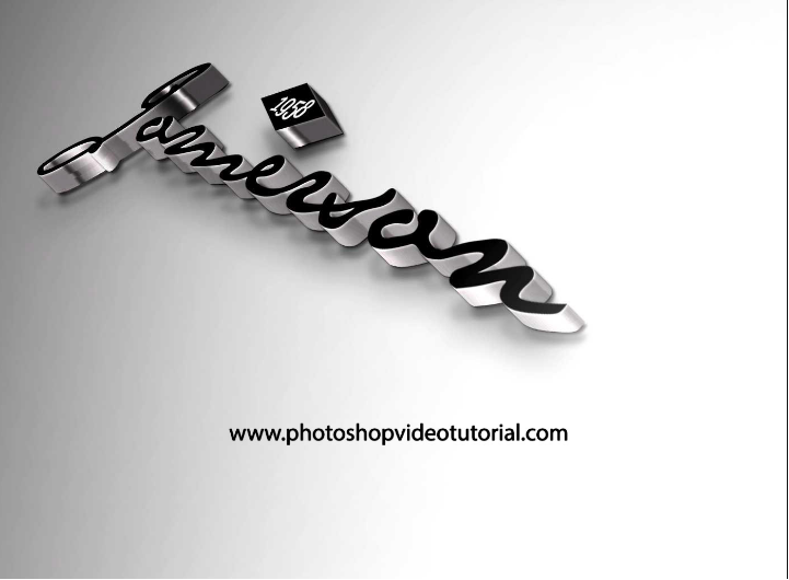 Realistic Logo Mockup PSD