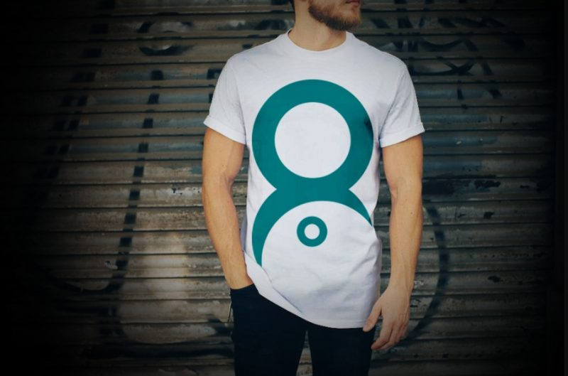 Realistic White T Shirt Mockup PSD Free