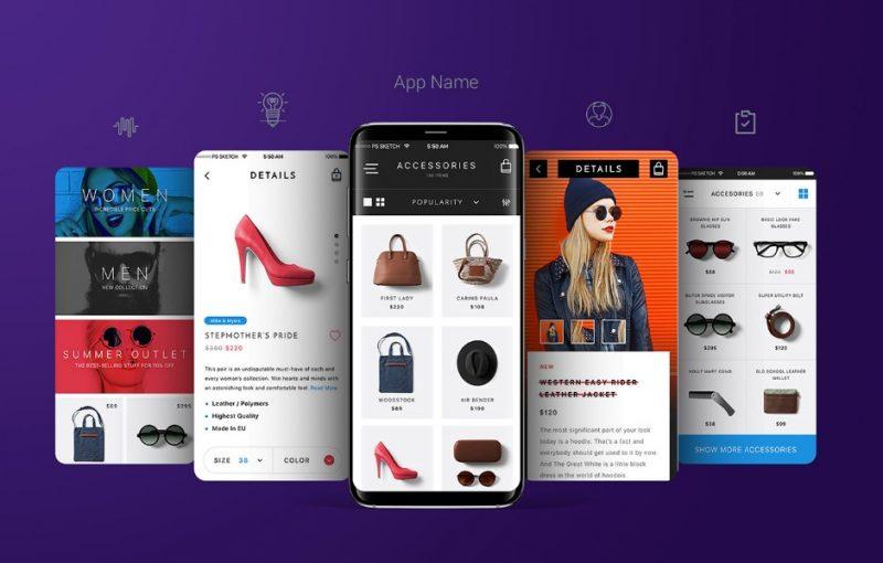 Samsung Galaxy App Mockup