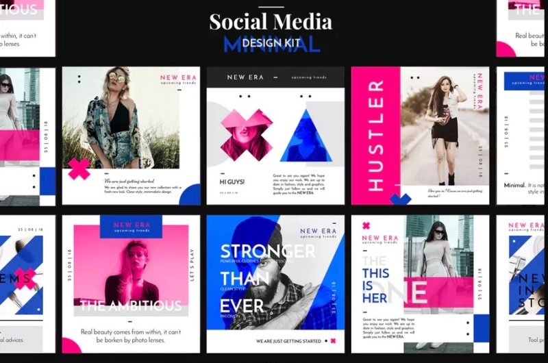 Social Media Design Mockup