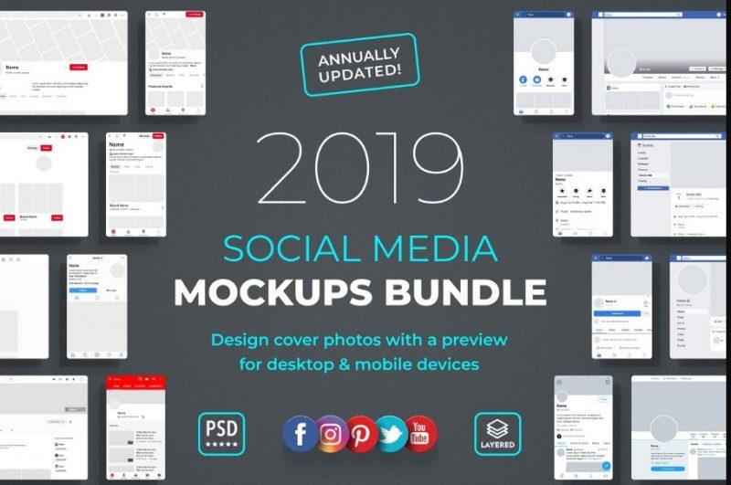 Social Media Mockup Bundle