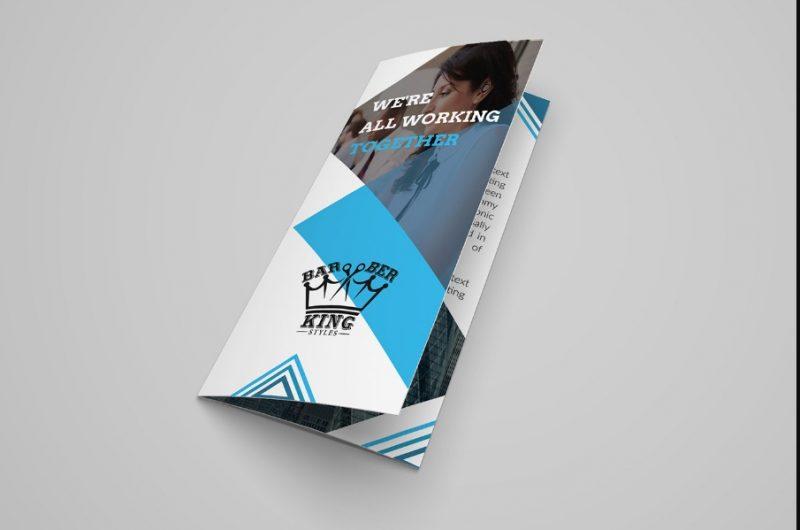 Tri Fold Brochure Design Mockup