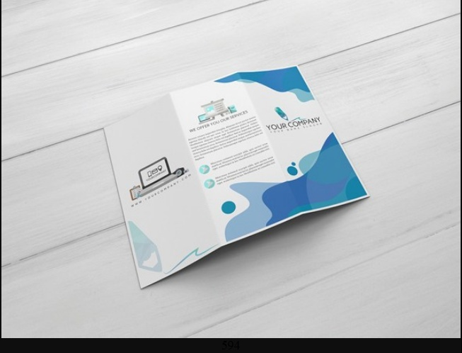 Two Side Flyer Mockup PSD