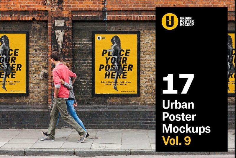 Urban Poster Mockup Pack