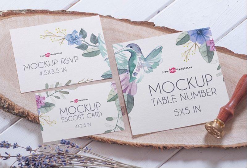 Wedding Suite Mockup PSD