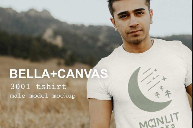 White T Shirt Mockup PSD