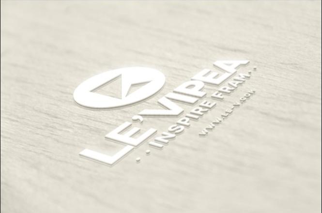 Wooden Embossed Logo Mockup