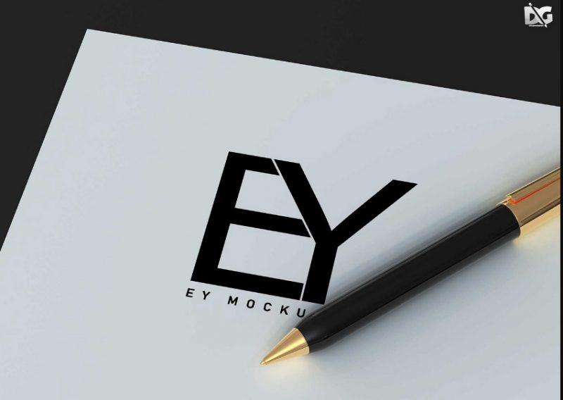 promotional Pen Mockup PSD