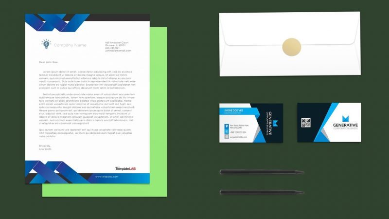 Stationary Branding Mockup PSD Free