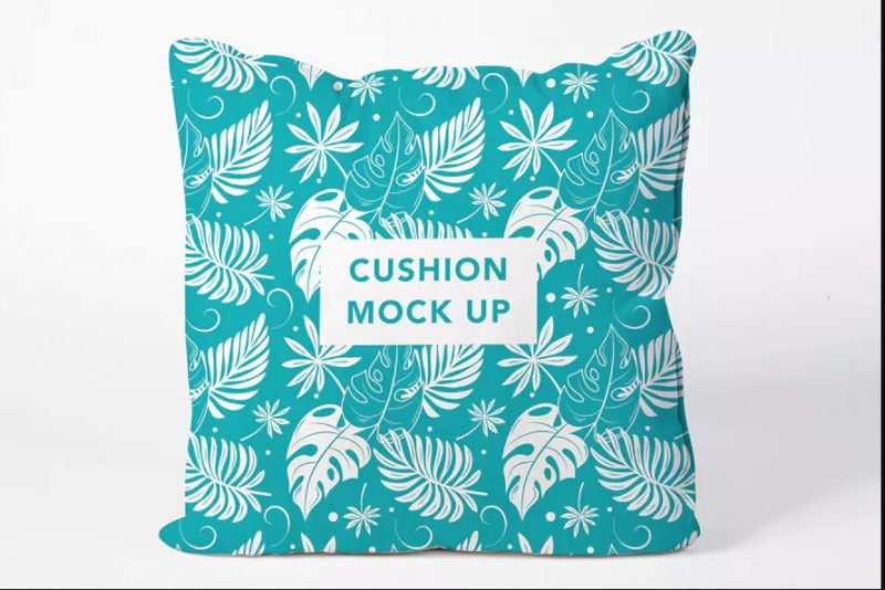 well Layered Cushion Mockup