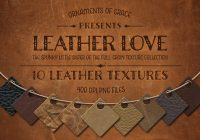 10 Brown Leather Backgrounds