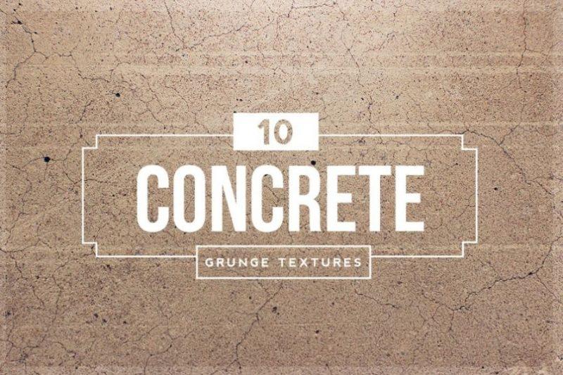 10 Concrete Grunge Textures