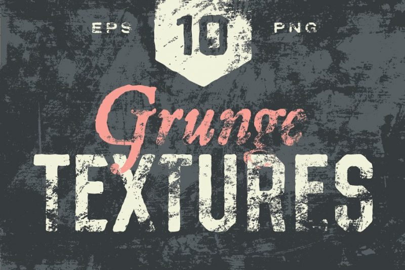 10 Grunge Background Textures