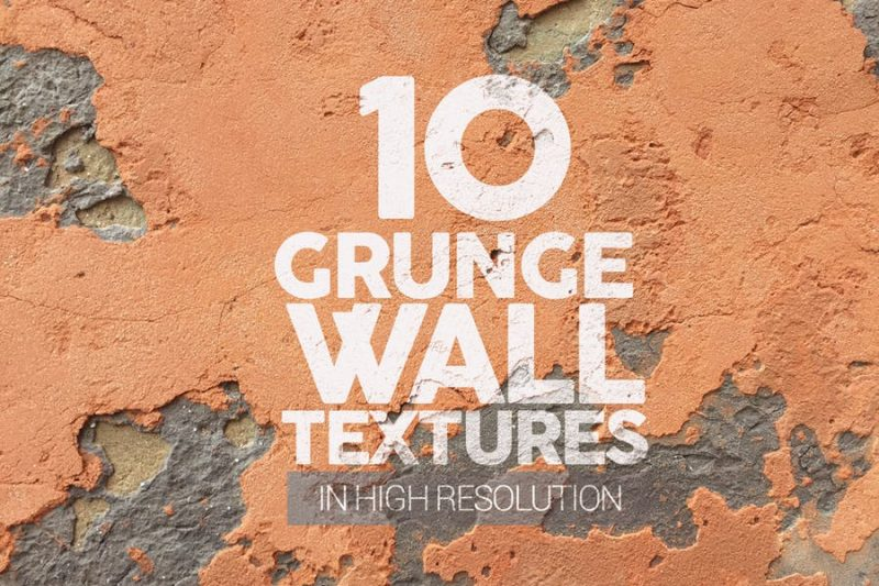 10 Grunge Wall Textures