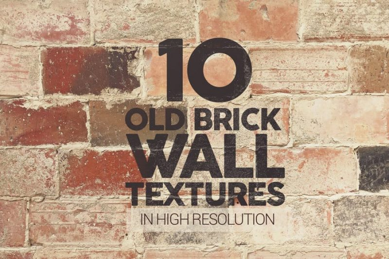 10 Old Brick Wall Backgrounds