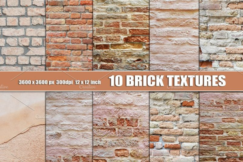 10 Unique Brick Walls Texture