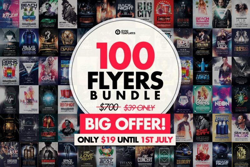 100 Flyers Bundle