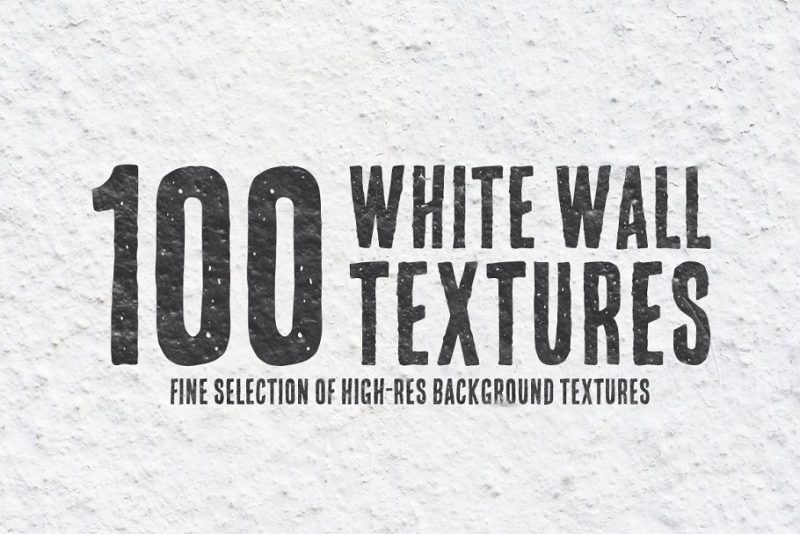 100 White Wall Textures Bundle