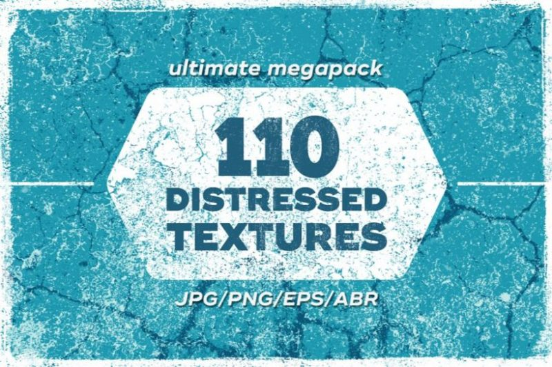 110 Distressed Vector Backgrounds