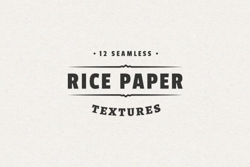 12 Seamless Rice Paper Texture