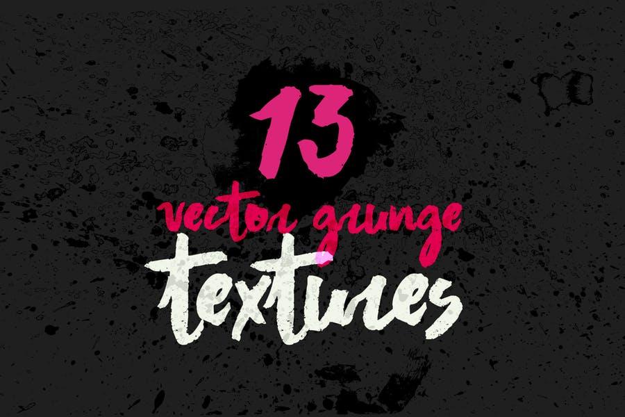 13 Retro Grunge Backgrounds