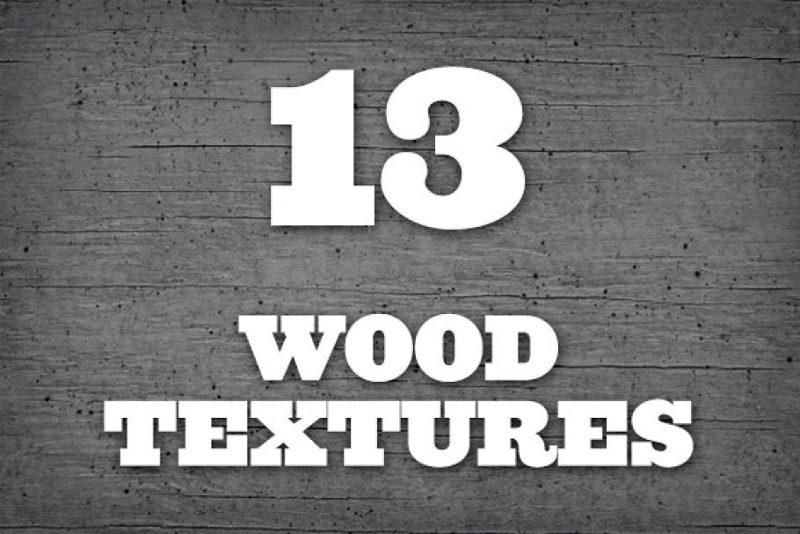 13 Seamless Wood Textures