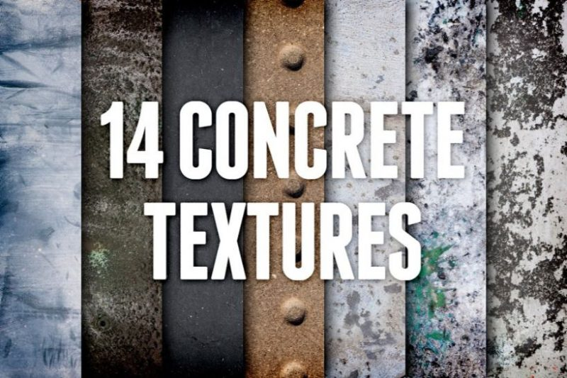 14 Concrete and Cement Backgrounds