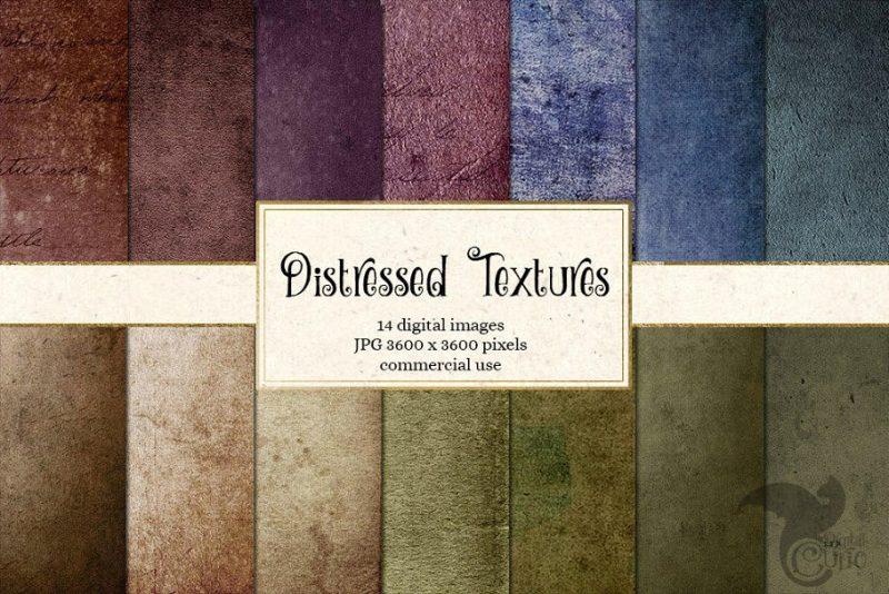 14 Digital Paper Textures