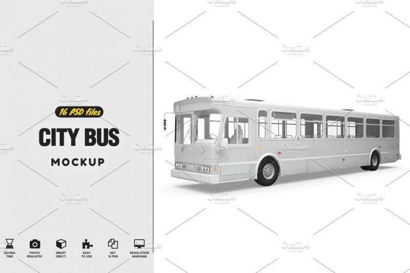 16 PSD Bus Mockups
