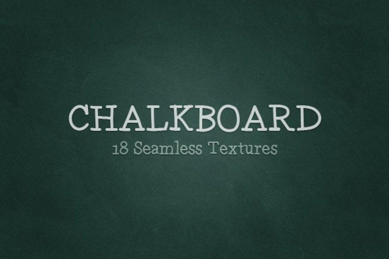 18 Chalkboard Textures Pack