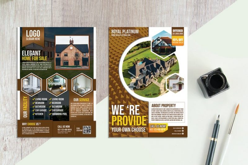 2 PSD Real Estate Flyers