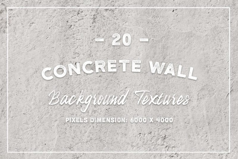20 Concrete Wall Backgrounds