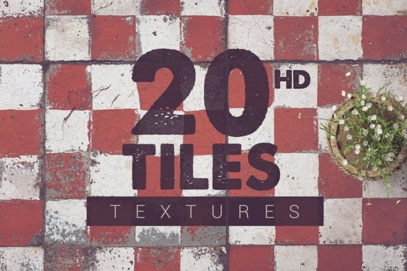20 HD Tile Textures
