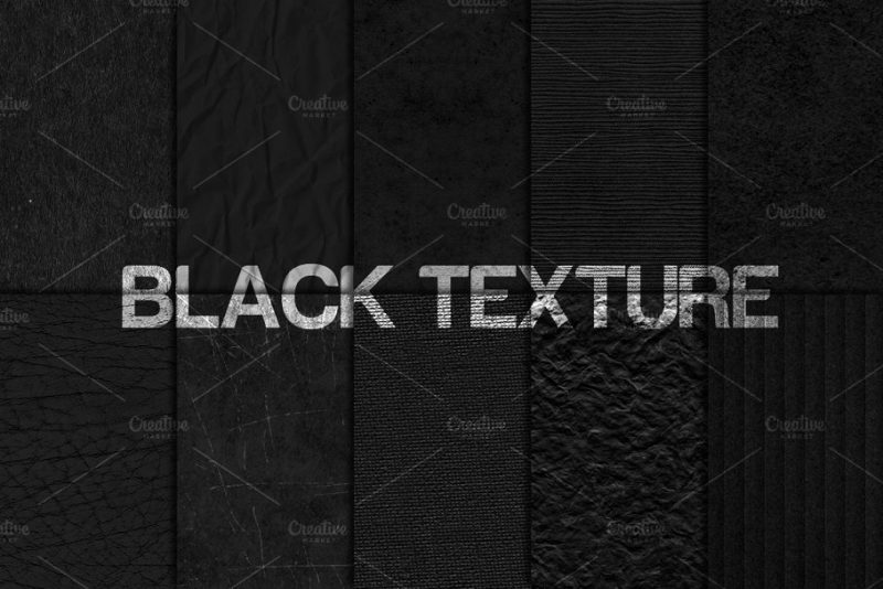 20 High Quality Black Paper Texture