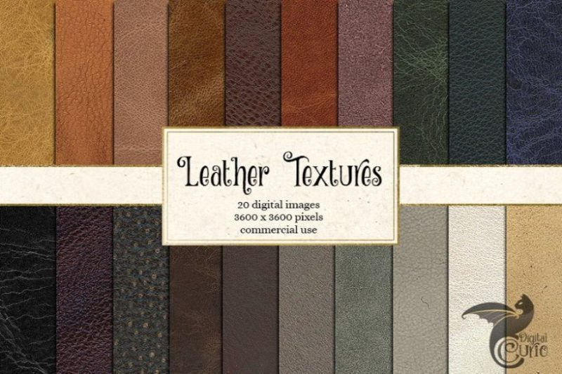 20 Leather Digital Textures