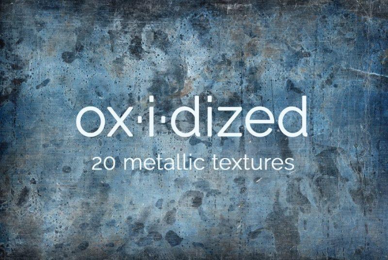 20 Oxidized Metallic Textures