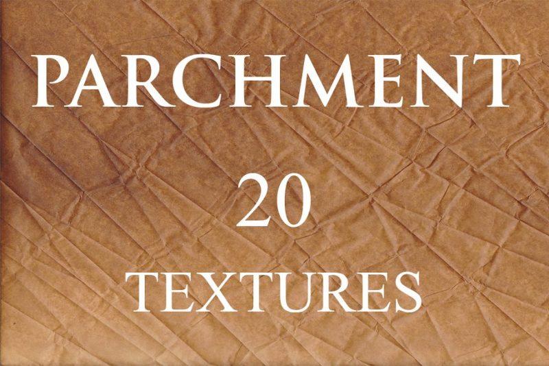 20 Parcment Textures Backgrounds
